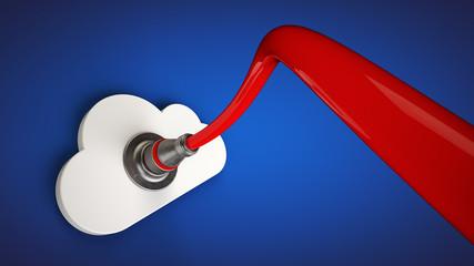 Cloud storage Fotoväggar