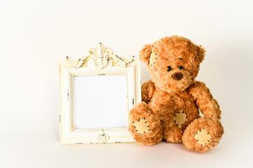 Teddy mit Bild