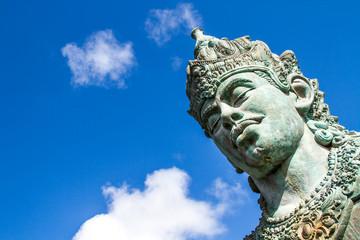 Wisnu statue  in GWK cultural park Bali Indonesia