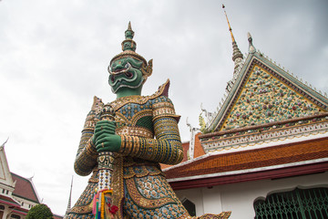 Giant at Wut Arun Bangkok Thailand