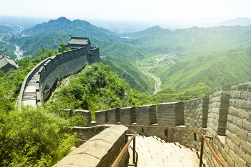 Autocollant pour porte Muraille de Chine The Great Wall of China