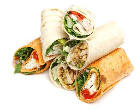 Wrap Sandwiches