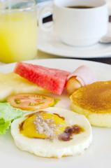 full meal for breakfast