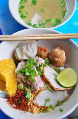 Thai noodle with soup