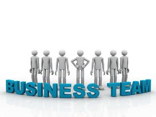 3D business Team
