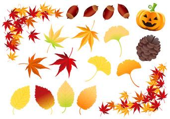 Autumnal parts Vector