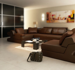Luxury Apartment (detail)