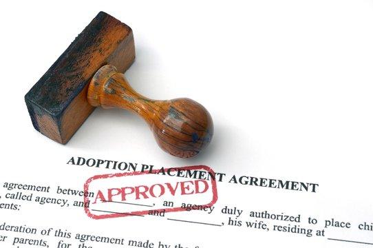 Adoption agreement