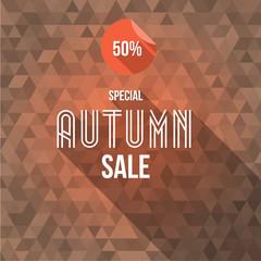Big Autumn Sale Banner