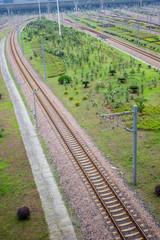 railway to station