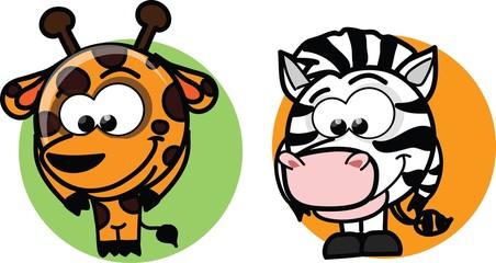 Мультфильм векторные животных