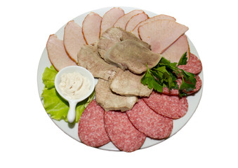 Plate with collation