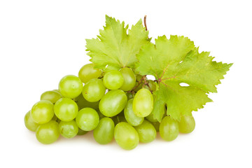 white grapes leaf