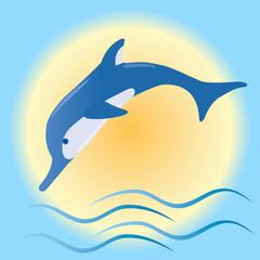 Photo sur Aluminium Dauphins dolphin
