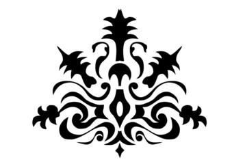 Heraldik Ornament Hintergrund