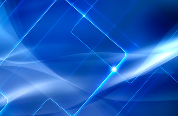 abstract blue background with intersecting lines