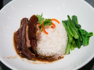 BBQ Roast Duck over Rice