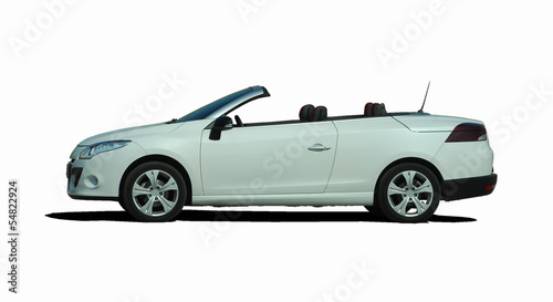 Wall mural cabriolet, convertible