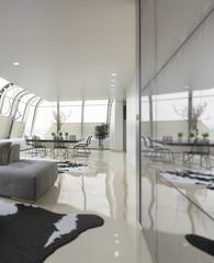 Modern Loft Area (focus)