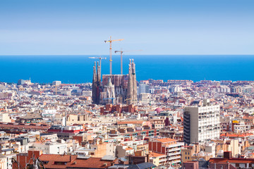 Photo sur Toile Europe Centrale view of Barcelona. Catalonia