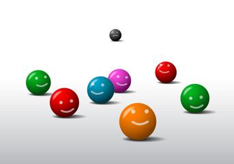 Balls emoticons