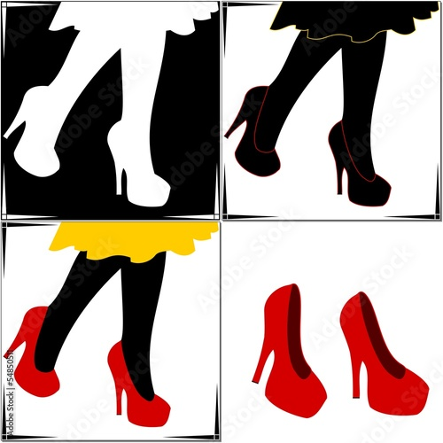 Files Free Image Vector Stock Royalty Tacco Alto Scarpe Rosse And 0nzqgqvw