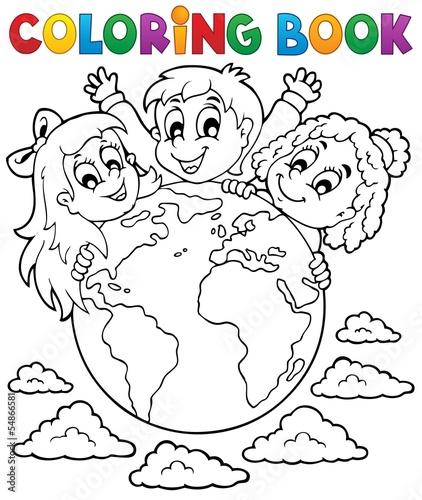 Раскраску детям