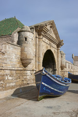 Historic harbour of Essaouira in Morocco