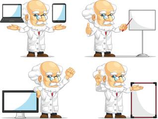 Scientist or Professor Customizable Mascot 14