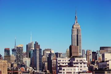 Midtown Manhattan Skyline New-York