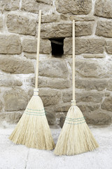 Brooms old