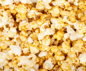 Popcorn texture background