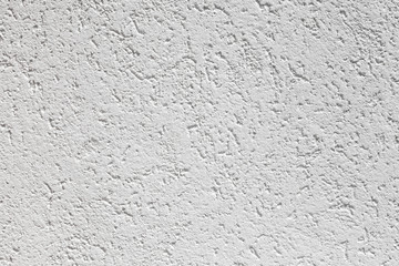 White wall with decorative stucco