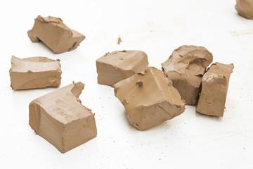 Molded clay