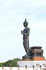 Walking Buddha image, Thailand