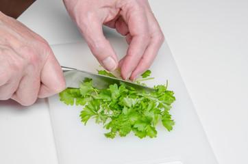 Petersilie für Grüne Bohnen 3