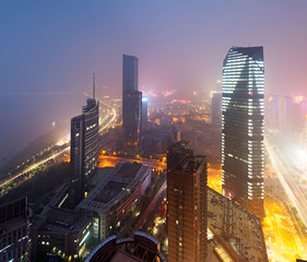 Bird view at Nanchang China.