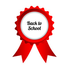 back to school sign, vector eps10