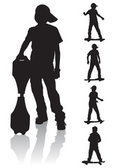 boys skate board