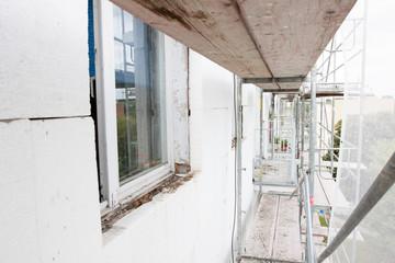 Remont budynku mieszkalnego