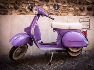 Foto auf Gartenposter Scooter scooter vintage
