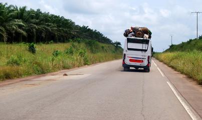 Transport par bus en Côte d'Ivoire