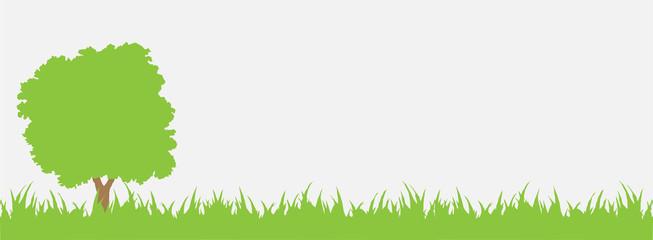 Fototapeta tree grass green obraz