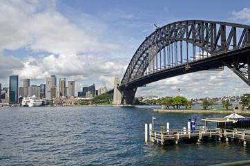 Sydney, Harbour Bridge, Skyline