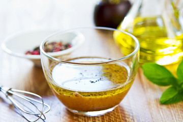 Homemade salad dressing