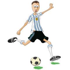 calciatore Argentina
