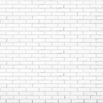 white brick wall vector texture
