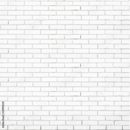 White brick wall street