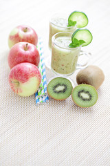 fruity smoothie