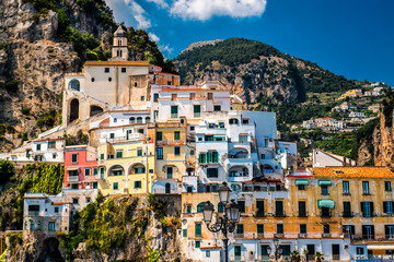 View of Amalfi, Italy